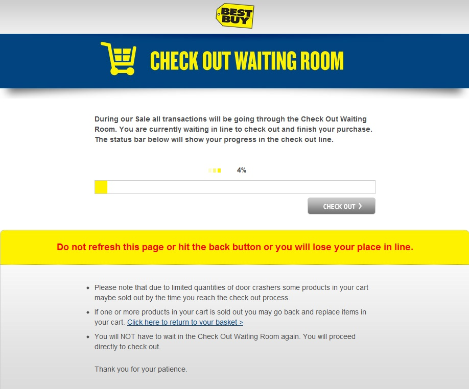 BestBuy Waiting Room